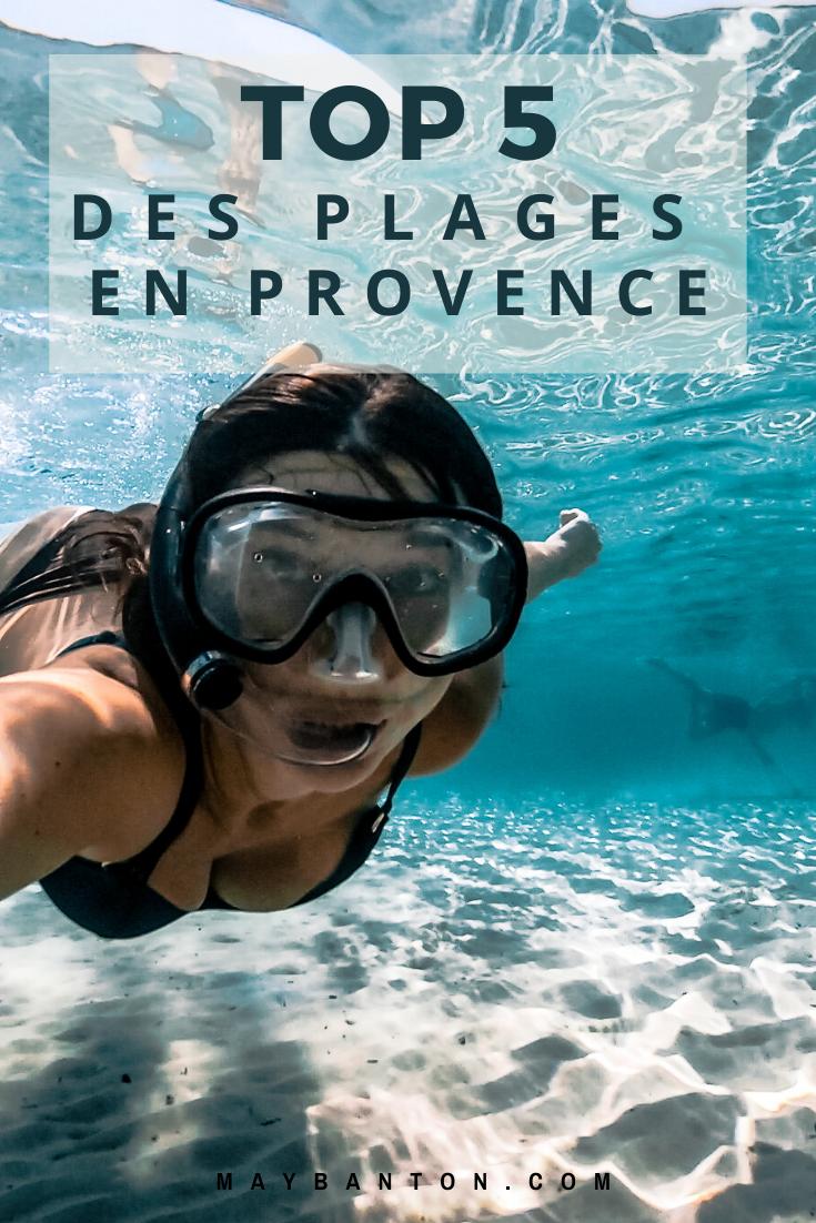 Qui a dit que nous n'avions pas de plage paradisiaque à l'eau turquoise en Provence ? Dans cet article, je te partage avec toi les 5 plus belles plages de la région.