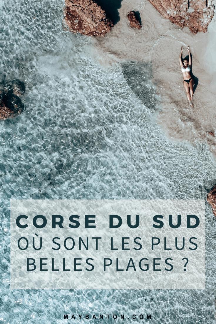 Dans cet article je t'indique où trouver les plus belles plages de Corse du Sud. Au programme, eau turquoise et paysages paradisiaques !