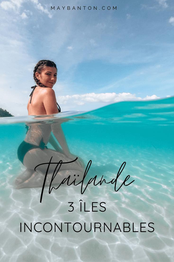 Dans cet article je te parle de trois îles incontournables selon moi pour un premier voyage en Thaïlande. Elles sont très différentes et te permettront d'expérimenter différentes facettes du pays du sourire.